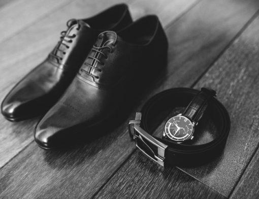 como combinar cinto com sapato